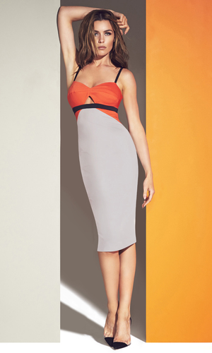 Abbey Clancy models her collection for Matalan