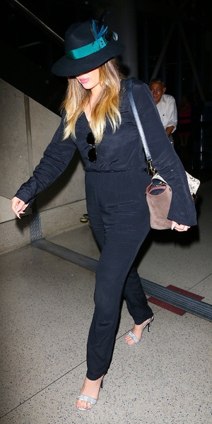 Khloe Kardashian, LAX airport, LA, 19 June
