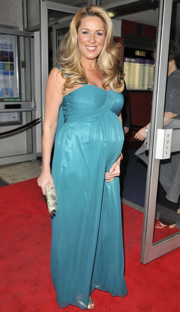 Claire Sweeney, Jersey Boys premier, Leicester Square, London, 16 June