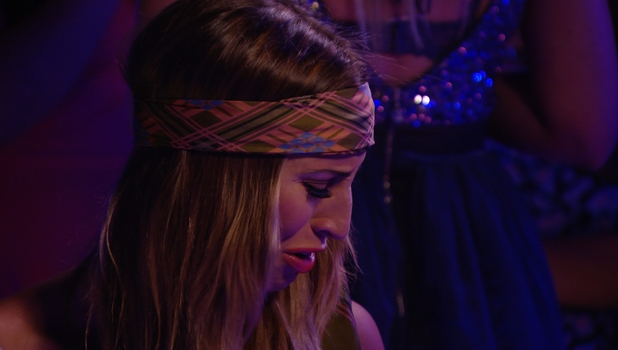 Ferne McCann and Charlie Sims have a teary conversation on The Only Way Is Marbs, 22 June 2014