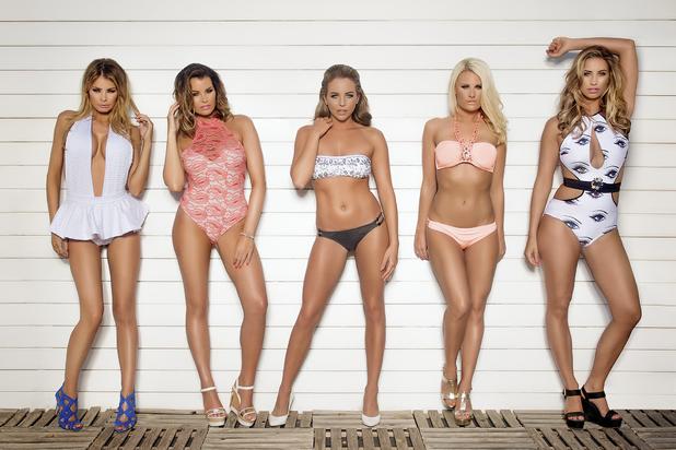 TOWIE girls Marbs promo shot - 18 June 2014