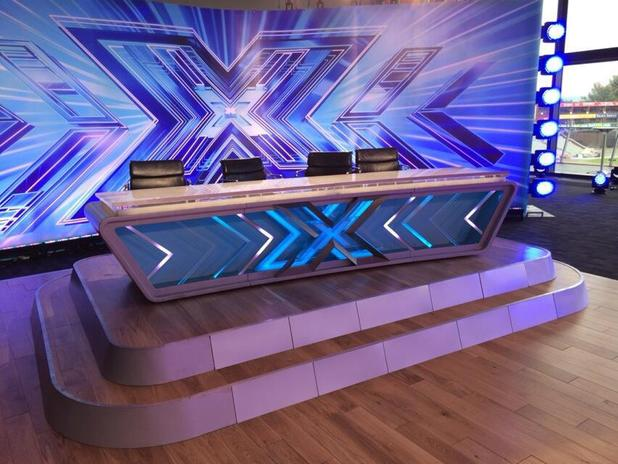 The X Factor audition room in Manchester - 16 June 2014