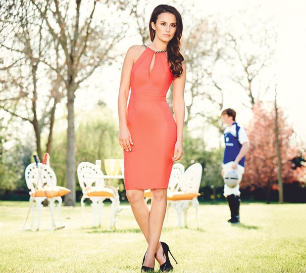 Made In Chelsea's Lucy Watson models the new exclusive Lipsy VIP dress collection - 16 June 2014