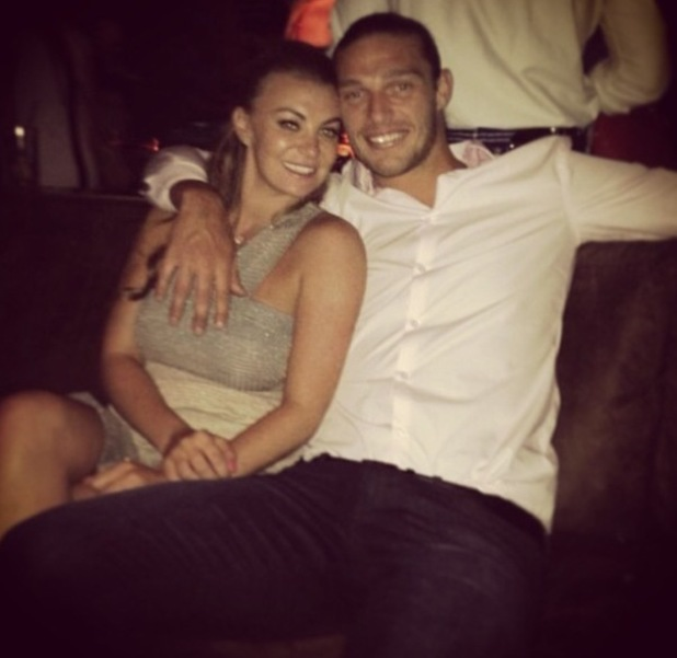 TOWIE's Billi Mucklow and Andy Carroll party together in Las Vegas - 18 June 2014