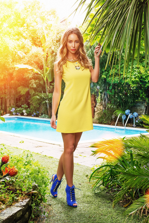TOWIE's Lauren Pope models her new high summer collection for InTheStyle.co.uk - 17 June 2014