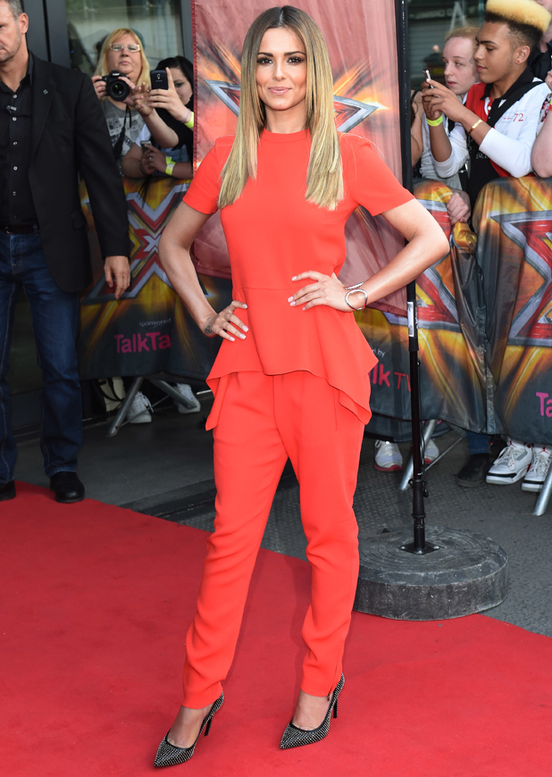 Cheryl Cole at The X Factor London auditions held at the Emirates stadium - Arrivals, 20 June 2014