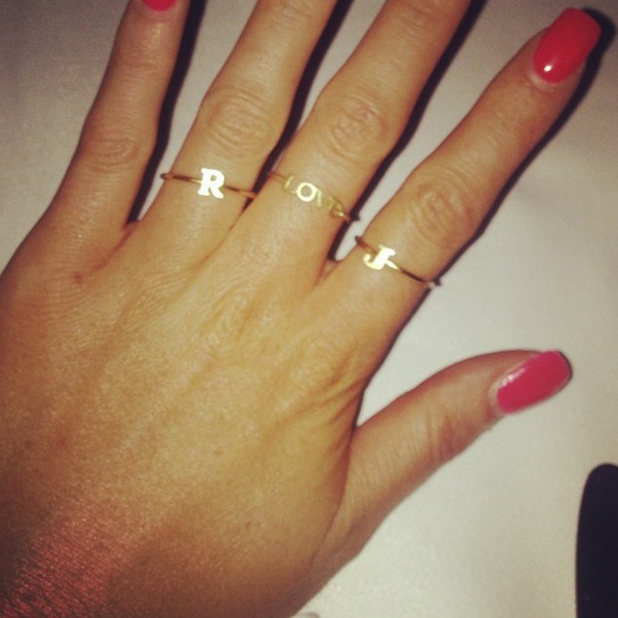 Jessica Wright shows love for Ricky Rayment with trio of rings in Marbella, 15 June 2014