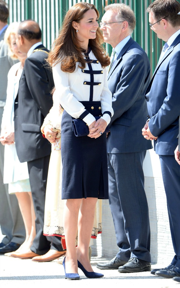 Kate Middleton visited the British heritage site which is home of the Bletchley Park Trust, a charity formed in 1992 to preserve the site for the nation. It showcases some of the iconic WWII history, 18 June 2014