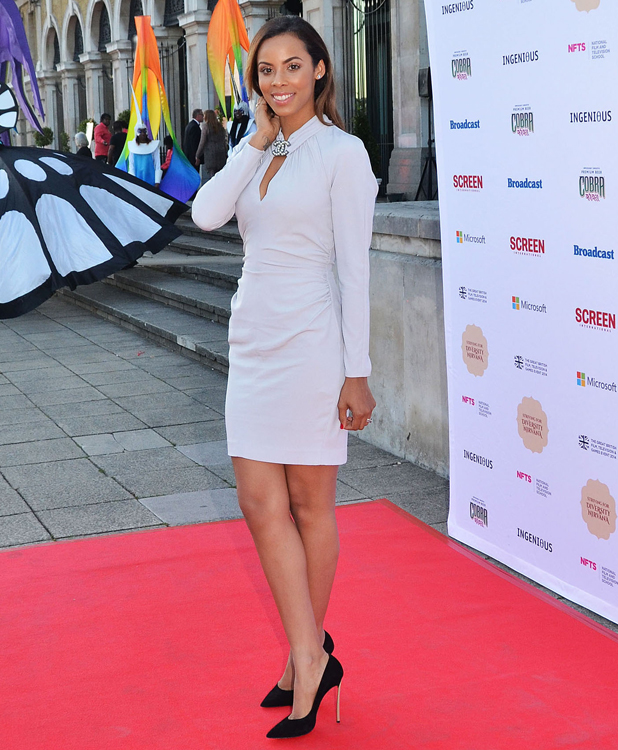 Rochelle Humes, National Film and Television School's (NFTS) Gala at the Old Billingsgate Market, 18 June 2014