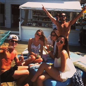 Made In Chelsea, Lucy Watson, Binky Felstead, Jamie Laing, Spencer Matthews, The Hamptons, New York, Instagram, 21 June