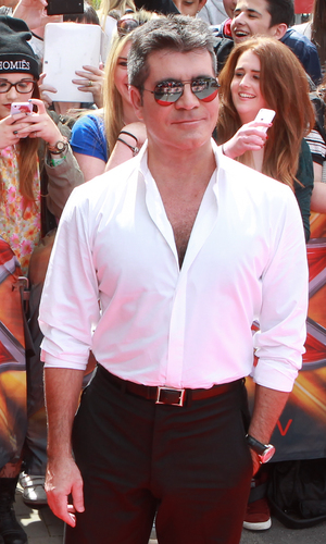 Simon Cowell - red Carpet arrivals for the 2014 X Factor in Manchester 06/16/2014 Manchester, United Kingdom