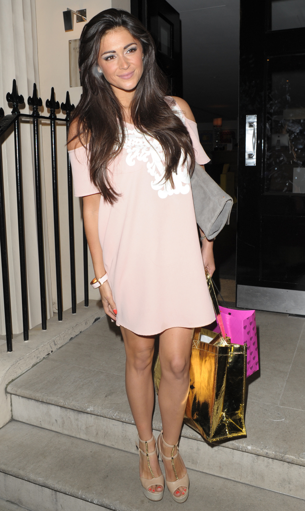 Casey Batchelor at the 'Fake Bake Save Our Skin' party - 25/6/14 London, United Kingdom