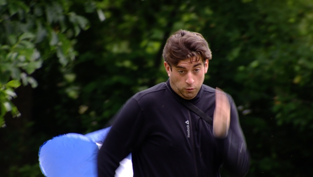 TOWIE's James 'Arg' Argent attempts to lose weight, 29 June 2014