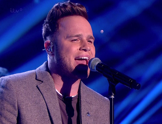 Olly Murs sings 'I Wish It Could Be Christmas Everyday' on Surprise Surprise. 19/12/2013.