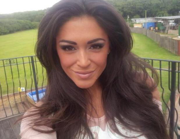 Casey Batchelor takes selfie before attending  the 'Fake Bake Save Our Skin' party - 25/6/14 London, United Kingdom