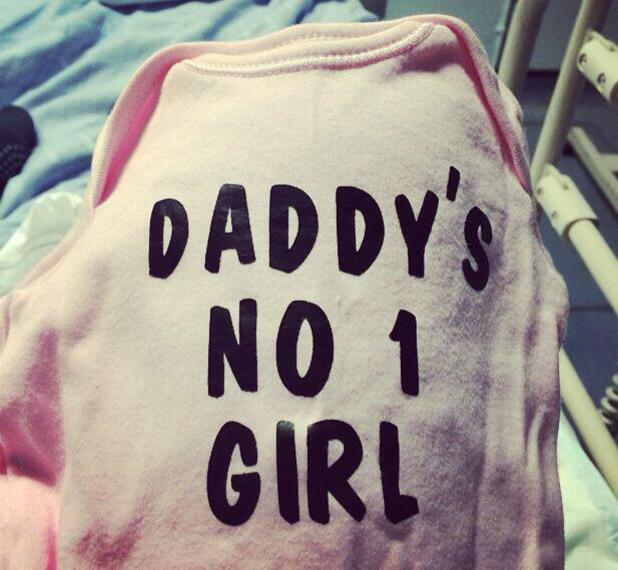 Antony Costa and fiancée Rosanna Jasmin welcome baby girl - 25 June 2014