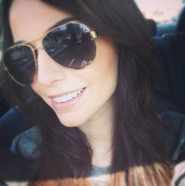 Cher Lloyd takes the perfect selfie in America - 25 June 2014