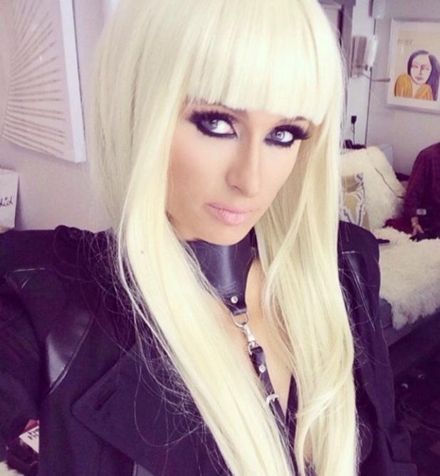Paris Hilton films music video for 'High Off My Love' (25 June).