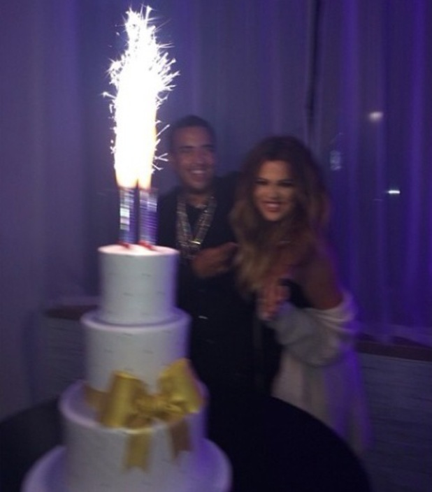 Khloe Kardashian holds a party in New York to celebrate her 30th birthday - 26 June 2014