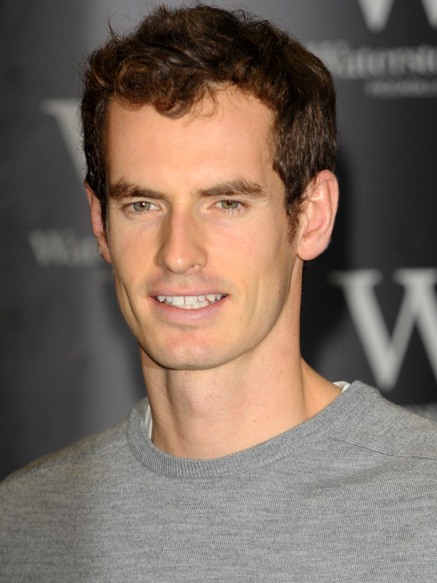 Andy Murray signs copies of his new book 'Seventy-Seven: My Road To Wimbledon Glory', at Waterstones Piccadilly - 11 June 2014