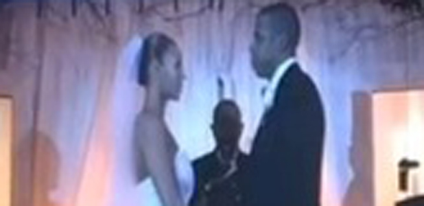 Beyonce and Jay Z share footage from their wedding during On The Run Tour, Miami, 25 June 2014