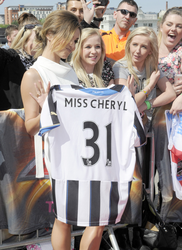 Cheryl Cole at the X Factor' TV show auditions, Baltic Centre, Newcastle, Britain - 26 Jun 2014