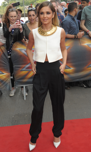 Cheryl Cole, The X Factor London auditions held at the Emirates stadium, 24 June 2014
