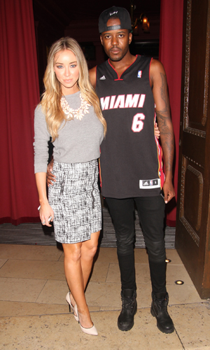 Lauren Pope at Steam and Rye with Vas J Morgan on 23 June 2014