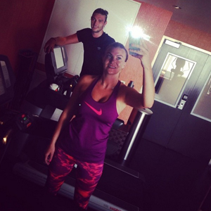 Billi Mucklow and Andy Carroll share pictures from their San Diego and San Francisco holiday, June 2014