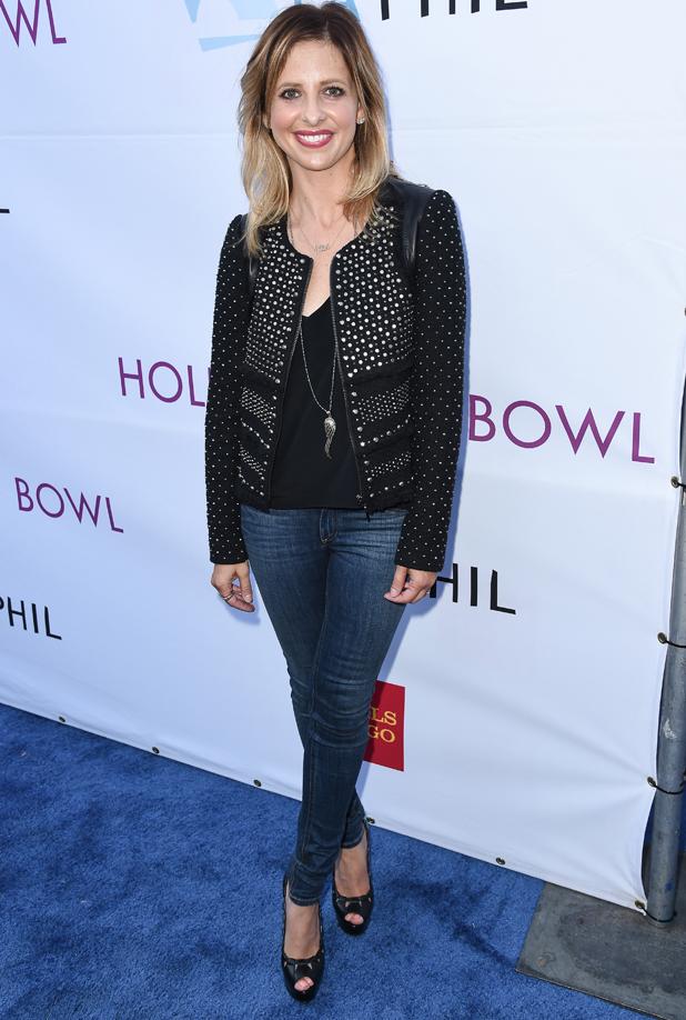 Sarah Michelle Gellar at Hollywood Bowl Hall of Fame Induction, Los Angeles, America - 21 Jun 2014