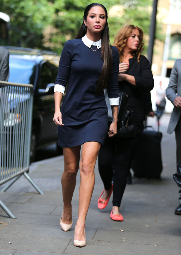 Tulisa Contostavlos in court, Southwark Crown Court, London, Britain - 26 Jun 2014