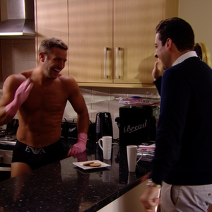 The Only Way Is Essex - Chloe Sims and Elliott Wright in the kitchen- episode aired: 2 July