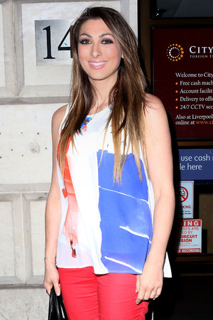 Luisa Zissman attends the launch of Secret Diva at Steam and Rye in London, England - 30 April 2014