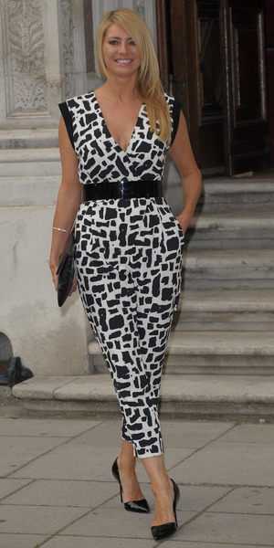 Tess Daly at Best of British Reception, 30 June.