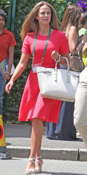 Kim Sears, Wimbledon Quarter Finals day, Wimbledon, 2 July