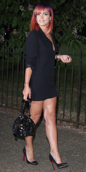Lily Allen attending the Serpentine Gallery Summer Party, Hyde Park, London, 1 July