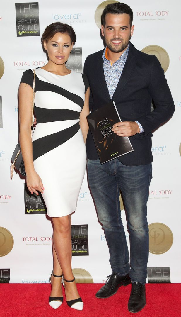 Jess Wright and Ricky Rayment attend The Ultimate Beauty Guide Launch Party in London, England - 3 July 2014