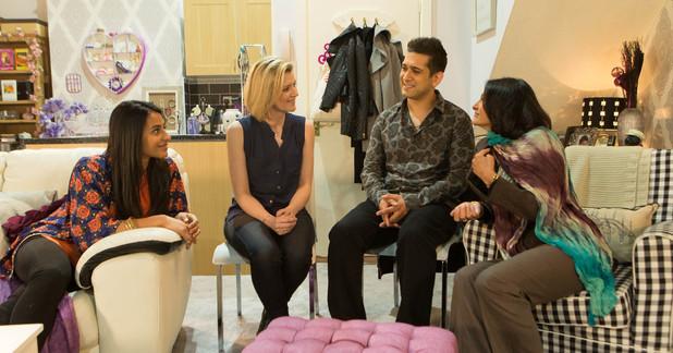 Corrie, Leanne meets Kal's mum, Fri 4 Jul