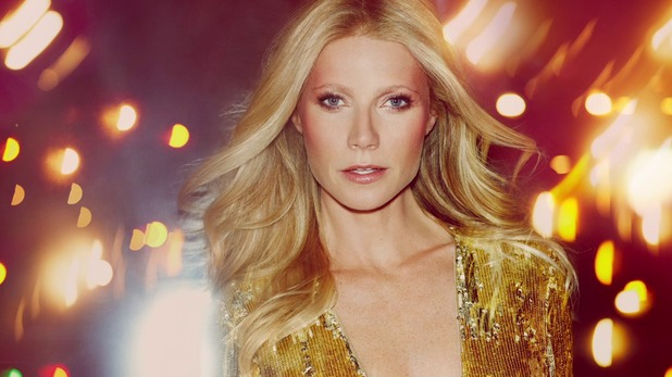 Gwyneth Paltrow shows off a make-up look from the 1970s for the Max Factor 100 Years of Glamour campaign - 1 July 2014