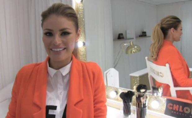 Chloe Sims speaks about Ferne McCann in TOWIE website video - 30 June 2014