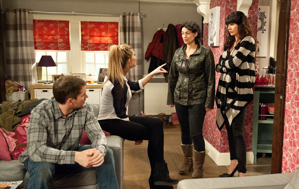 Emmerdale, Debbie tells Moira what she thinks, Tue 1 Jul