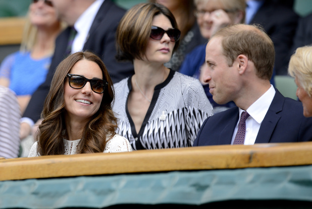Catherine Duchess of Cambridge at the Wimbledon Tennis Championships, London, Britain - 02 Jul 2014.