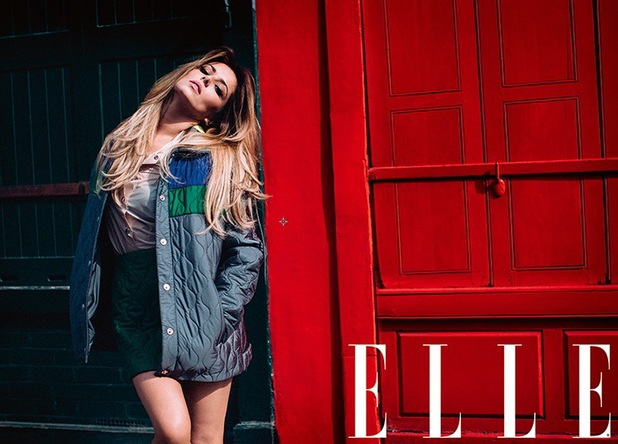 Cheryl Cole on the cover of ELLE UK - August edition - 3 July 2014