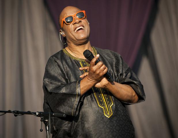 Stevie Wonder - London Calling Festival at Clapham Common, London, Britain - 29 Jun 2014