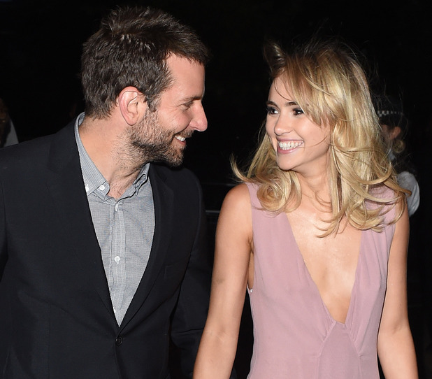 Bradley Cooper and Suki Waterhouse attend the Serpentine Gallery's Summer Party, Hyde Park, London, 1 July