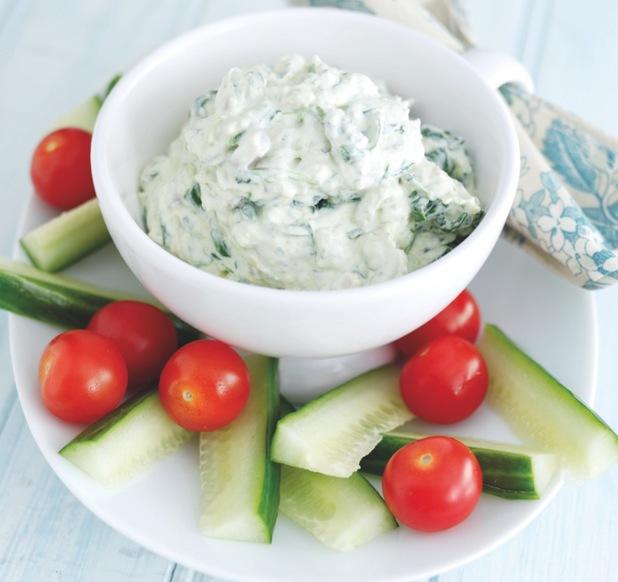 Avocado and spinach dip