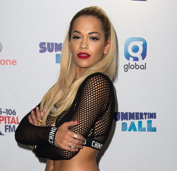 Rita Ora, Capital FM Summertime Ball 2014 held at Wembley Arena - Arrivals, 21 June 2014