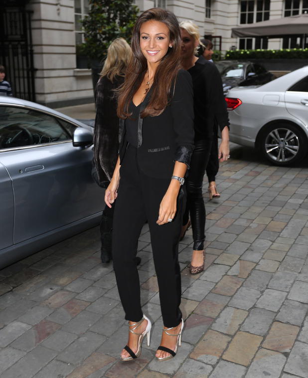 Michelle Keegan at the launch party for her new Lipsy fashion collection, held at the Rosewood Hotel in London, England - 2 July 2014