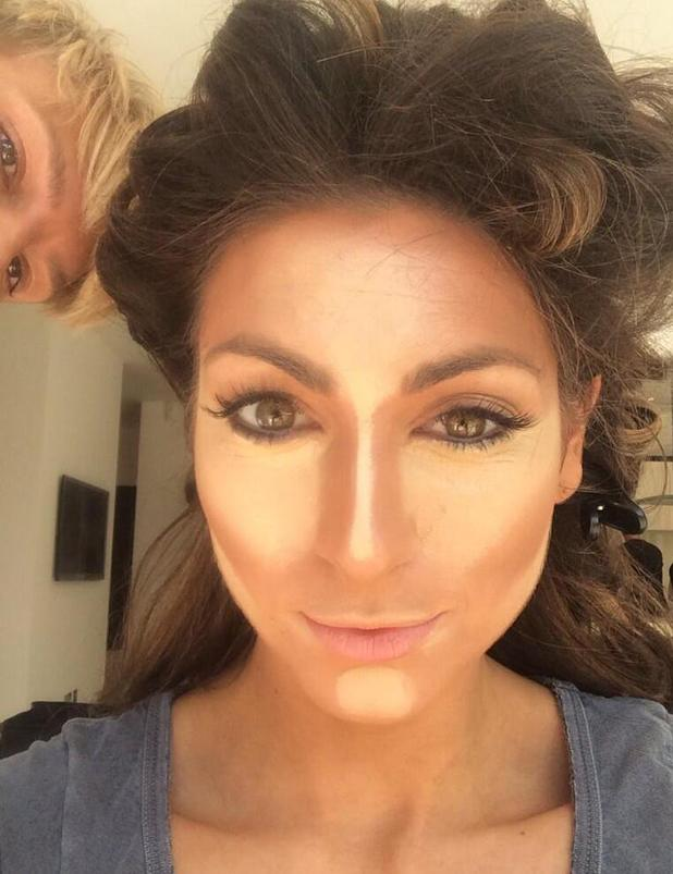 Celebrity Big Brother's Luisa Zissman teases new calendar shoot with make-up photo (30 June).