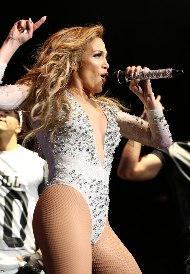 Jennifer Lopez at the 103.5 KTU's KTUphoria 2014 in East Rutherford, New Jersey. 06/30/2014 New York, New York, United States